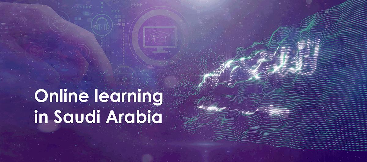 Online learning in Saudi Arabia