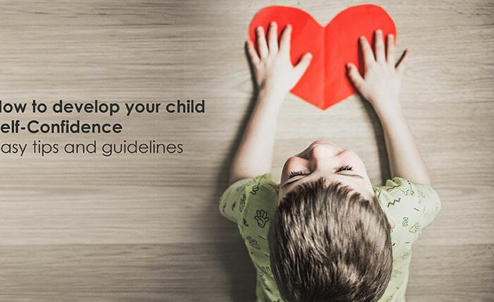 Develop child self-confidence