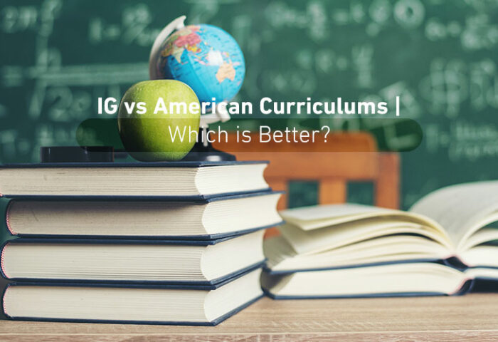 IG VS American Curriculums